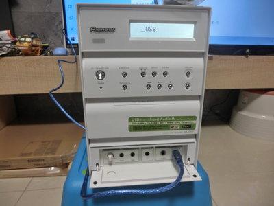 PIONEER XV-HA5音響擴大主機,內建USB DAC、DVD、CD播放機
