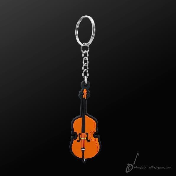 香港 Musician Designer 大提琴 Cello 情侶 吊飾 鑰匙圈 墜飾 樂器 禮物 【茗詮樂器】
