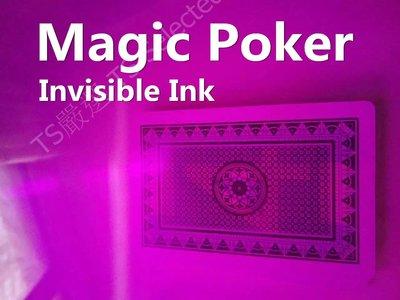 [贈撲克牌2副] 透視 撲克牌 免密碼 無記號 魔術 道具 整人 隱形 撲克牌 透視撲克 invisible poker