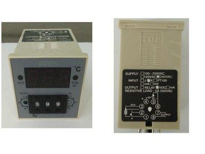 0~600度指撥高溫型溫度控制器 尺寸48mm*48mm(含1支感溫棒) 輸出方式SSR固態繼電器