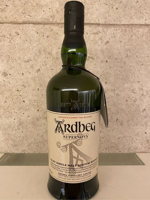 Ardbeg Supernova Advance Committee Release 58.9%abv