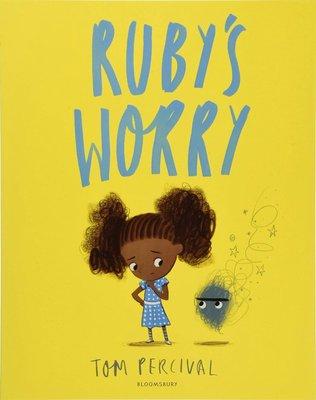 兒童情緒管理 露比的擔憂 英文 Ruby's Worry 故事繪本 3-6歲