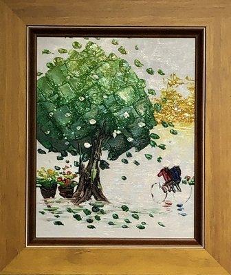 【松風閣畫廊】#油畫 #純手繪  33 x 28m /t200247u