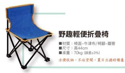 野趣輕便摺疊椅