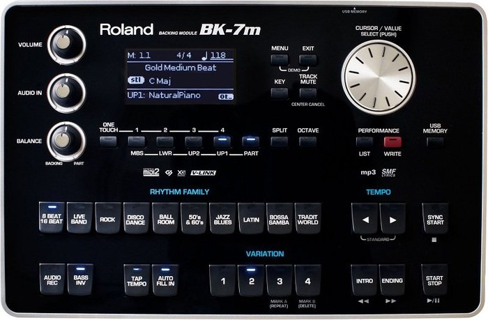 造韻樂器音響- JU-MUSIC - 全新 Roland BK-7m Backing Module 自動伴奏音源機 節奏