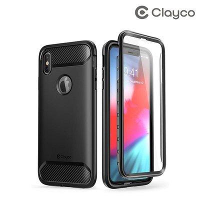 iPhone XS Max Clayco Xenon 前後全包保護殼 手機保護套 可繼續無線充電手機殼Case 1849A