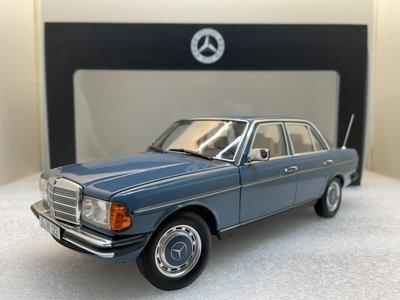 吉華科技@ 1/18 原廠 Mercedes 200 (W123) 1980-1985 Light Blue
