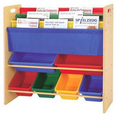 *歡樂屋*.....//兒童書報玩具收納架 //.....培養小朋友收納分類的好習慣