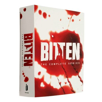 【聚優品】 原版美劇DVD Bitten 隱世狼女/狼女1-3季 完整版 10碟裝DVD 精美盒裝