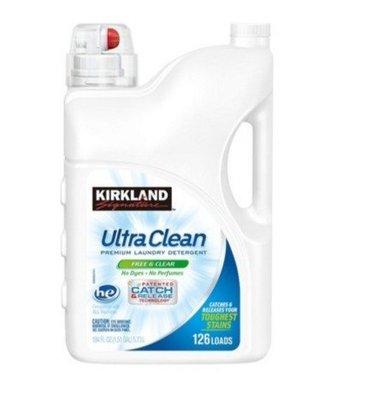 【多娜小鋪】Kirkland 科克蘭 超濃縮無香精洗衣精 5.73公升/含運只要640元/好市多 COSTCO