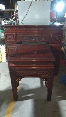 【尚典中古家具】實木4呎神桌組 中古 二手 神桌