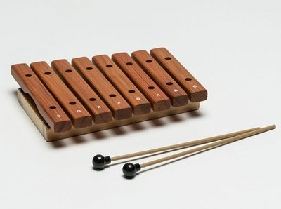 【華邑樂器53012-2】HAOSEN 豪聲 8音桌上小木琴-原木色 (附琴槌 台灣製造 HXOS-8)