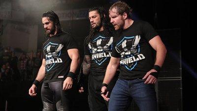 [美國瘋潮]正版 WWE The Shield United T-Shirt 神盾軍重組聯合最新款衣服特價熱賣中