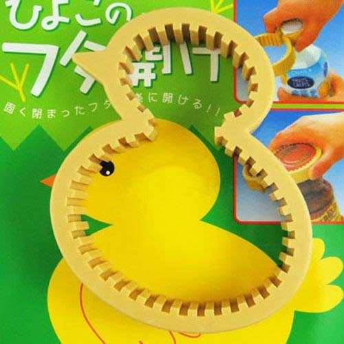 Q媽 黃色小雞 小鴨開瓶器 開罐器 適合任何瓶蓋
