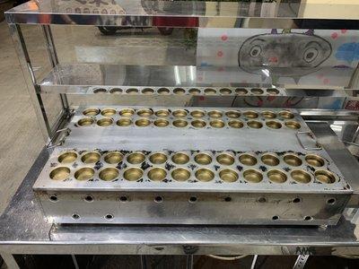 ✪樂芙二手貨✪ 黃銅48孔紅豆餅機 二手紅豆餅機 紅豆餅爐具