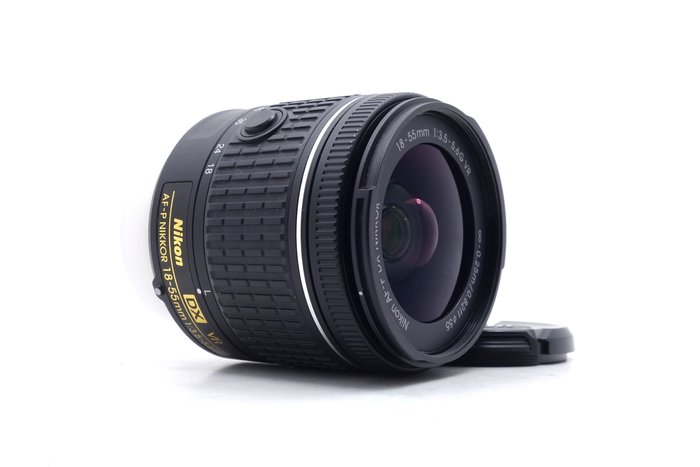 【台中青蘋果】Nikon AF-P DX 18-55mm f3.5-5.6G VR 二手 鏡頭 #47590