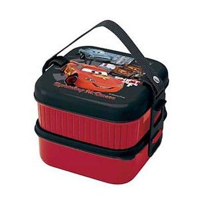 現貨不必等 日製 迪士尼 CARS 汽車總動員 閃電麥坤 雙層 便當盒 4973307219634 C