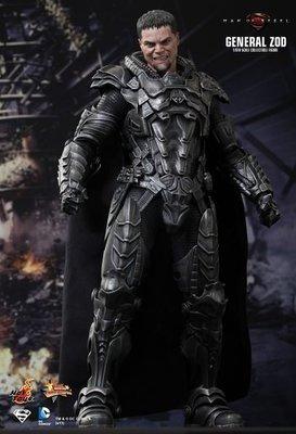 全新未開 玩具狂熱 Hot toys man of steel Superman Hottoys General Zod 蕯德將軍 鋼鐵英雄 1比6 12吋人偶