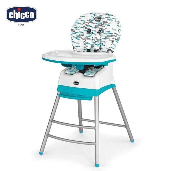 ╭◇娃娃屋◇╮◇可 或送贈品◇Chicco義大利◇Stack三合一多 成長高腳餐椅 2色