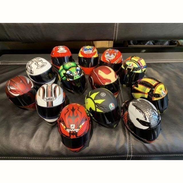 【徒行者】ARAI SHOEI AGV安全帽頭盔娃娃~重機熊玩偶(16款安全帽可選擇)