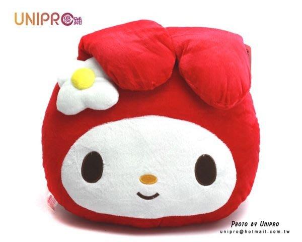 UNIPRO 三麗鷗 Sanrio 美樂蒂小花 抱枕  午安枕