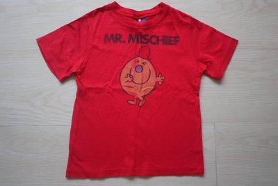 降價~GAP Junk food 淘氣先生紅色T恤--4Y