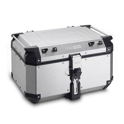 【箱架屋】義大利 GIVI OBKN58A 附底座 鋁箱 行李箱 後箱 銀色 2018年 新款