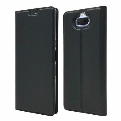 Sony Xperia 10/10 Plus 皮革插卡手機套 內軟殼 可支架 手機殼 保護套