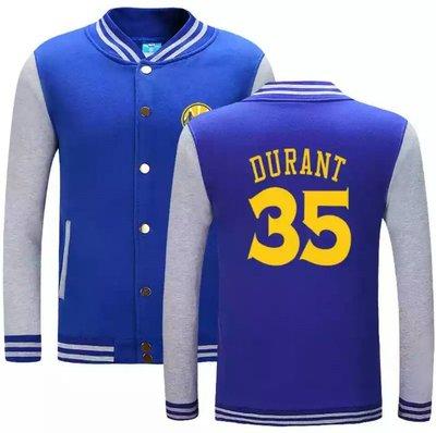 🏀KD杜蘭特Kevin Durant純棉運動厚外套🏀NBA球衣勇士隊Adidas愛迪達棒球籃球風衣休閒薄夾克男717
