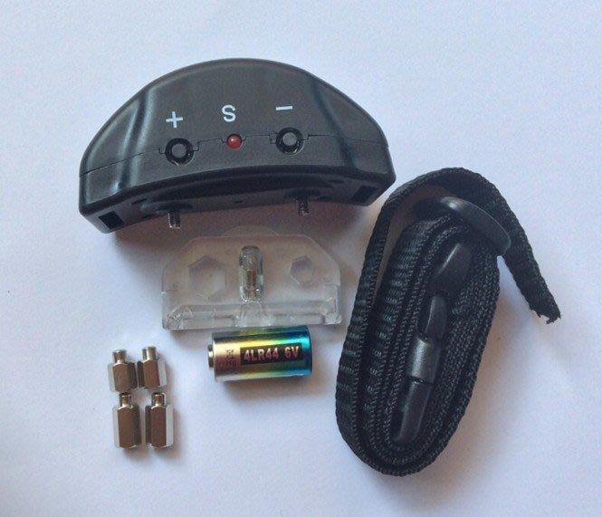 新一代 聲音+電擊 自動止吠項圈 /防吠項圈 /狗電擊項圈 (A01)