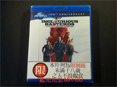 [藍光BD] - 惡棍特工 Inglorious Bastards ( 傳訊公司貨 )