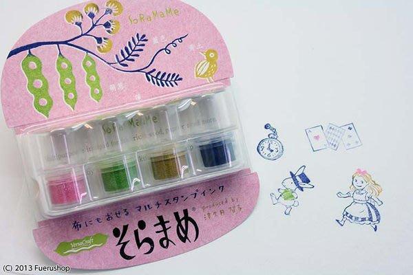 ☆╮Jessice 雜貨小鋪╭☆日本進口 VersaCraft 布用印台印泥 可愛豆子 vkb-408