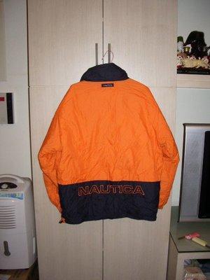 男性精品與服飾  外套 羽毛雙面夾克NAUTIC A原價九千多