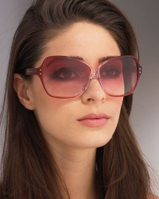 Oliver Peoples Crave Sunglasses Oliver Peoples 太陽眼鏡棗紅漸層