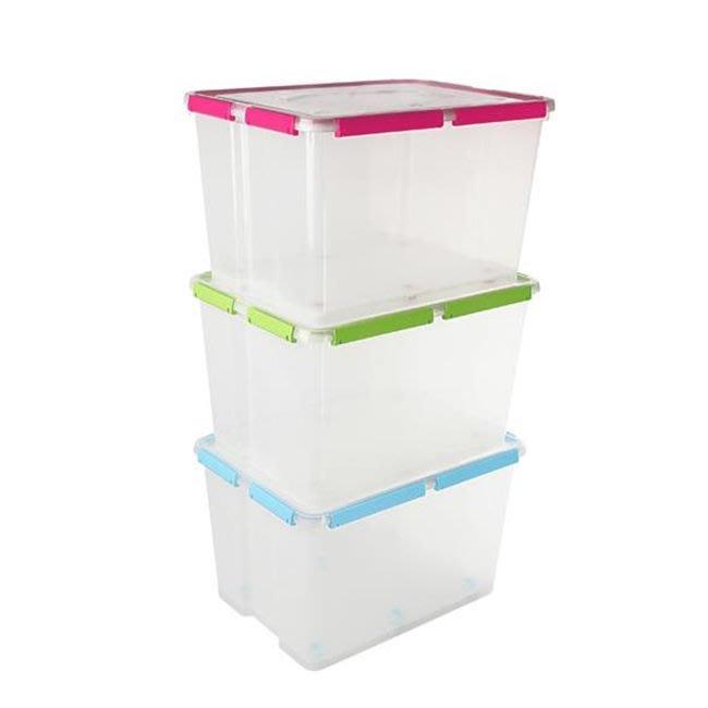 MIT 聯府  KT500 密封箱 彌封箱 整理箱 收納箱 防潮箱 整理櫃 塑膠盒 置物箱【H110031】塔克百貨