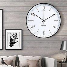 〖洋碼頭〗現代簡約客廳掛鐘創意靜音鐘錶時鐘時尚家用藝術掛表極簡掛表北歐 xtm153