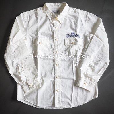 ✞ASENSERI✞ TENDERLOIN T-WORK SHT SLAB 品牌字體刺繡襯衫