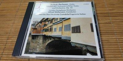 好音悅 Perlman 柴可夫斯基 小提琴協奏曲 Wilkinson Chesky records NIMBUS版