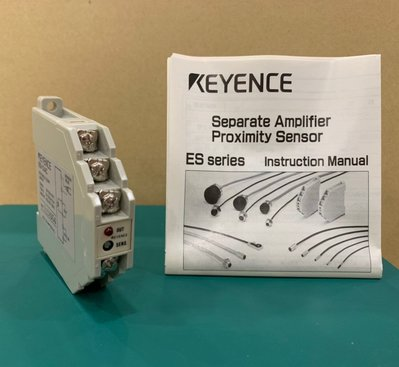 【全新 / 現貨】Keyence 基恩 斯 ES-12AC  放大器模組 AC型