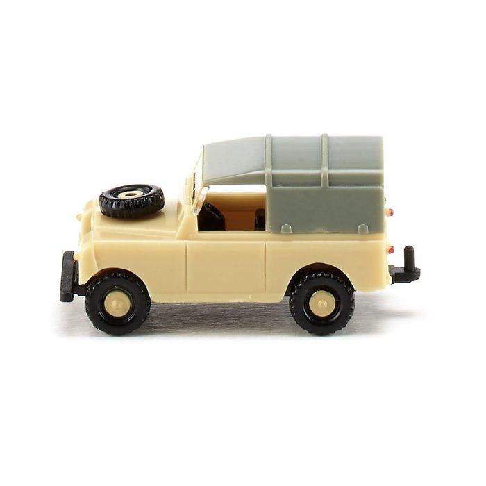 傑仲(有發票) 博蘭 公司貨 WIKING Land Rover – beige 092303 N