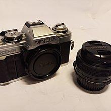 MINOLTA XG-M 單鏡反光菲林相機 + 鏡頭