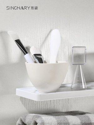 299起售-美容硅膠調面膜碗套裝攪拌膜碗2件套軟毛面膜和刷子家用水療工具#分裝瓶#化妝工具#旅行清潔
