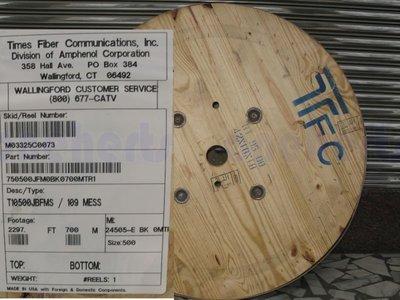 TFC T10500JBFMS 500鋁管線 有線電視 第四台主幹 衰減最低 傳輸最遠 500半英吋鋁管線 監控線