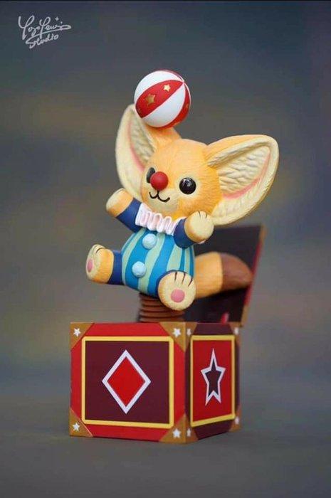 Yoyo Yeung Studio 驚嚇盒 Kennth Plush 原色版 TTF 公仔 模型 玩具 收藏 全球限量 單一尺寸