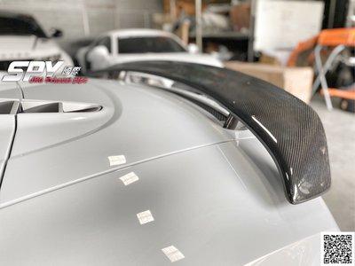 SPY國際 Audi R8 碳纖維尾翼 GT 尾翼