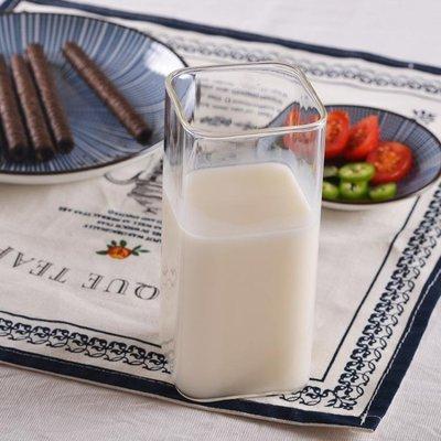 【春季上新】酸奶杯子牛奶杯加熱杯透明奶茶杯微波爐早餐杯麥片 日式玻璃杯 全店免運