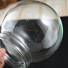 Sweet Garden, 暇疵出清 10cm玻璃球罩+藍色軟膠塞 可用來作音樂水晶球 DIY配件 20個1000含運