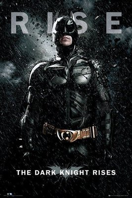 HOT Batman The Dark Knight Rise蝙蝠俠 CATWOMAN BANE POSTER 海報 TOYS 一套五張