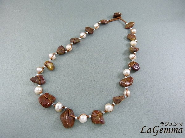 ♥寶峻飾品♥特價180元~半寶石 晶石 波西米亞風 民族風  淡水珍珠 手鍊 SP-202