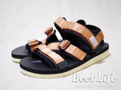 【Boot Life】SUICOKE KISEE-V 潛水墊 Vibram雙層底涼鞋 金色 淺棕色